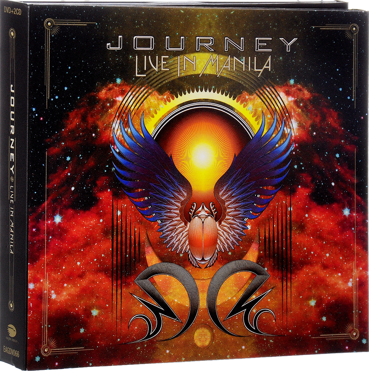 Journey Journey. Live In Manila (2 CD + DVD) dvd