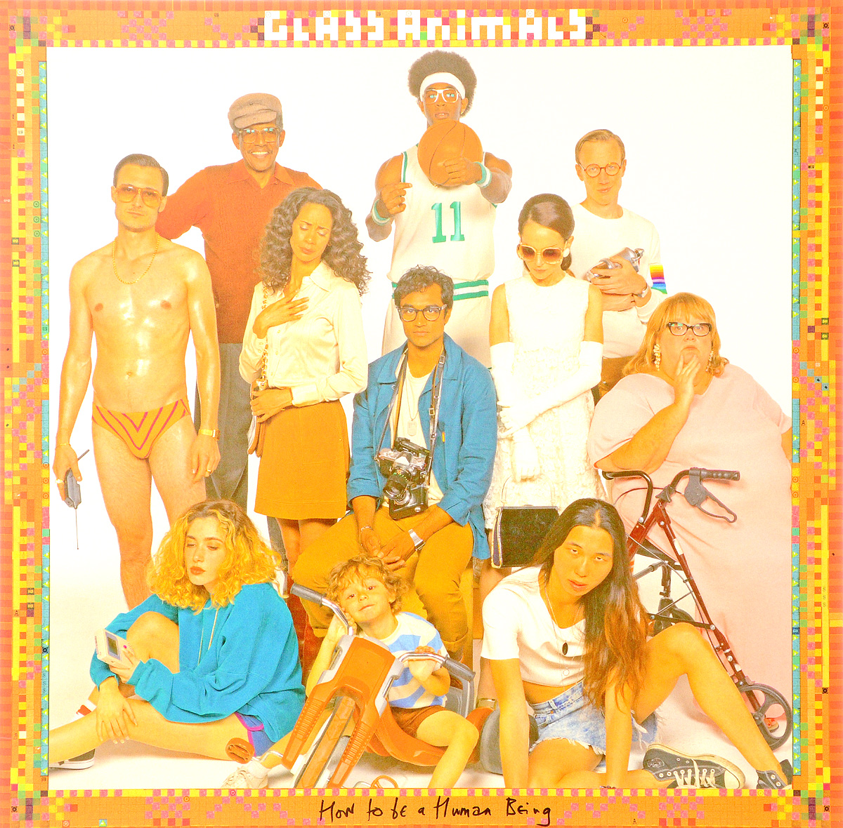 Glass Animals Glass Animals. How To Be A Human Being (LP) glass animals glass animals how to be a human being