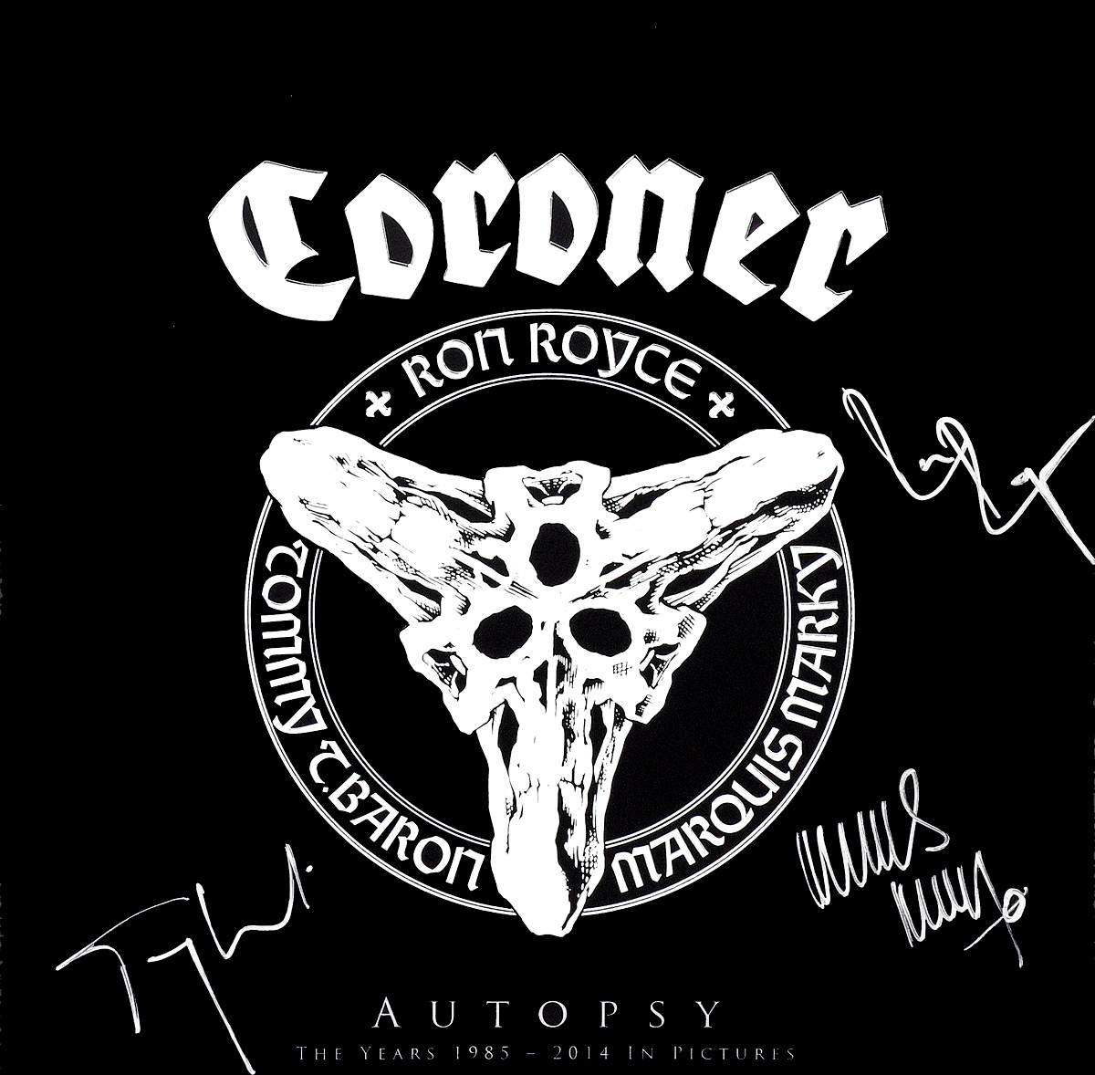 Coroner Coroner. Autopsy (LP + 3 Blu-ray) rammstein – mutter 2 lp