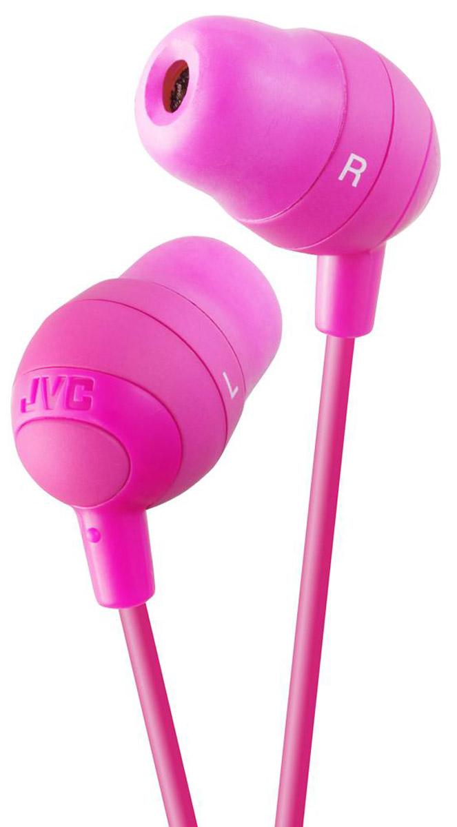 JVC Marshmallow HA-FX32-P, Pink наушники jvc ha enr15 p pink наушники