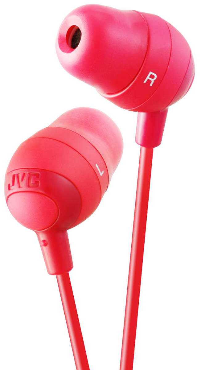 JVC Marshmallow HA-FX32-R, Red наушники цена