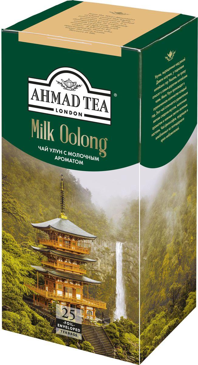 Ahmad Tea Milk Oolong ароматизированный чай в пакетиках, 25 шт цена