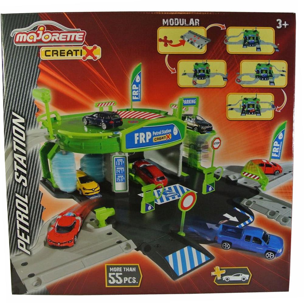 Majorette Игровой набор Заправочная станция Creatix majorette игровой набор парковка полицейская станция