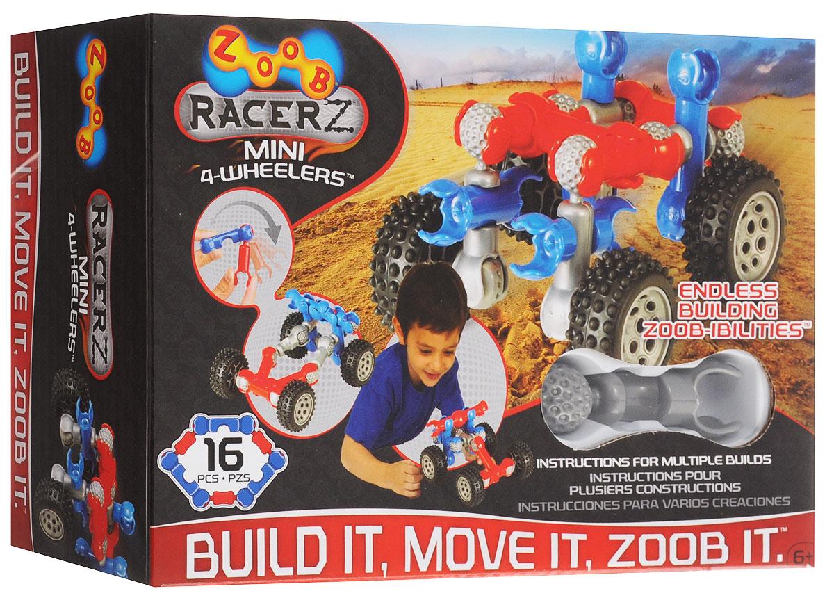 Zoob Конструктор Mini 4-Wheeler zoob конструктор zoob racer z car designer 76 деталей