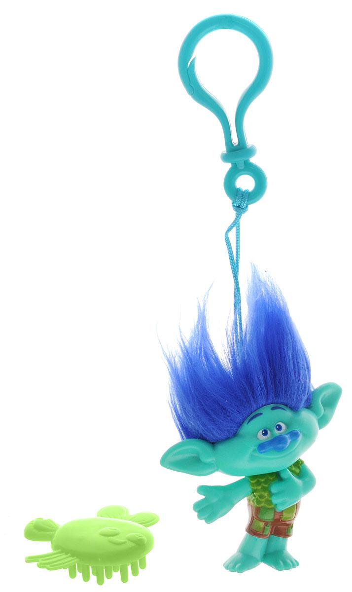 Zuru Брелок Тролль Branch цвет зеленый синий 6201