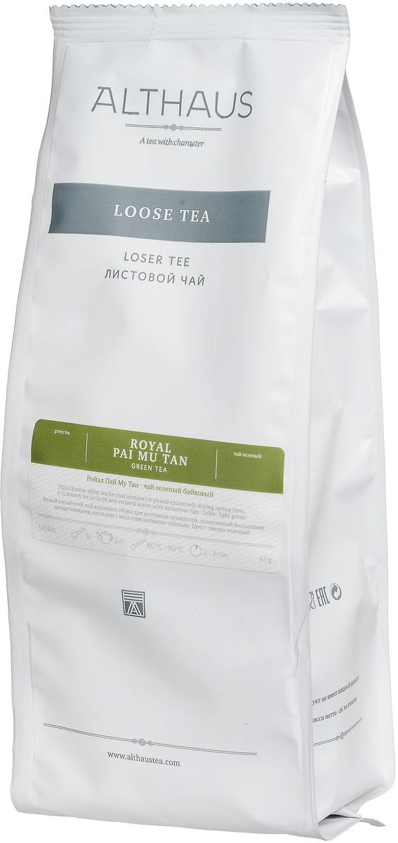 Althaus Royal Pai Mu Tan зеленый листовой чай, 65 г стоимость