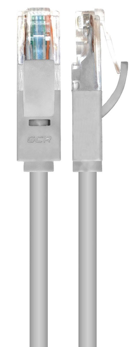 Greenconnect GCR-LNC03, Gray сетевой кабель 0,5 м greenconnect gcr lnu202 сетевой адаптер usb rj 45
