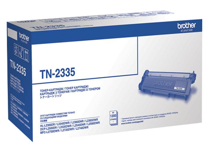 Картридж Brother TN-2335, черный, для лазерного принтера картридж brother tn 3030 для hl 51хх series mfc 8440 8840 3500стр