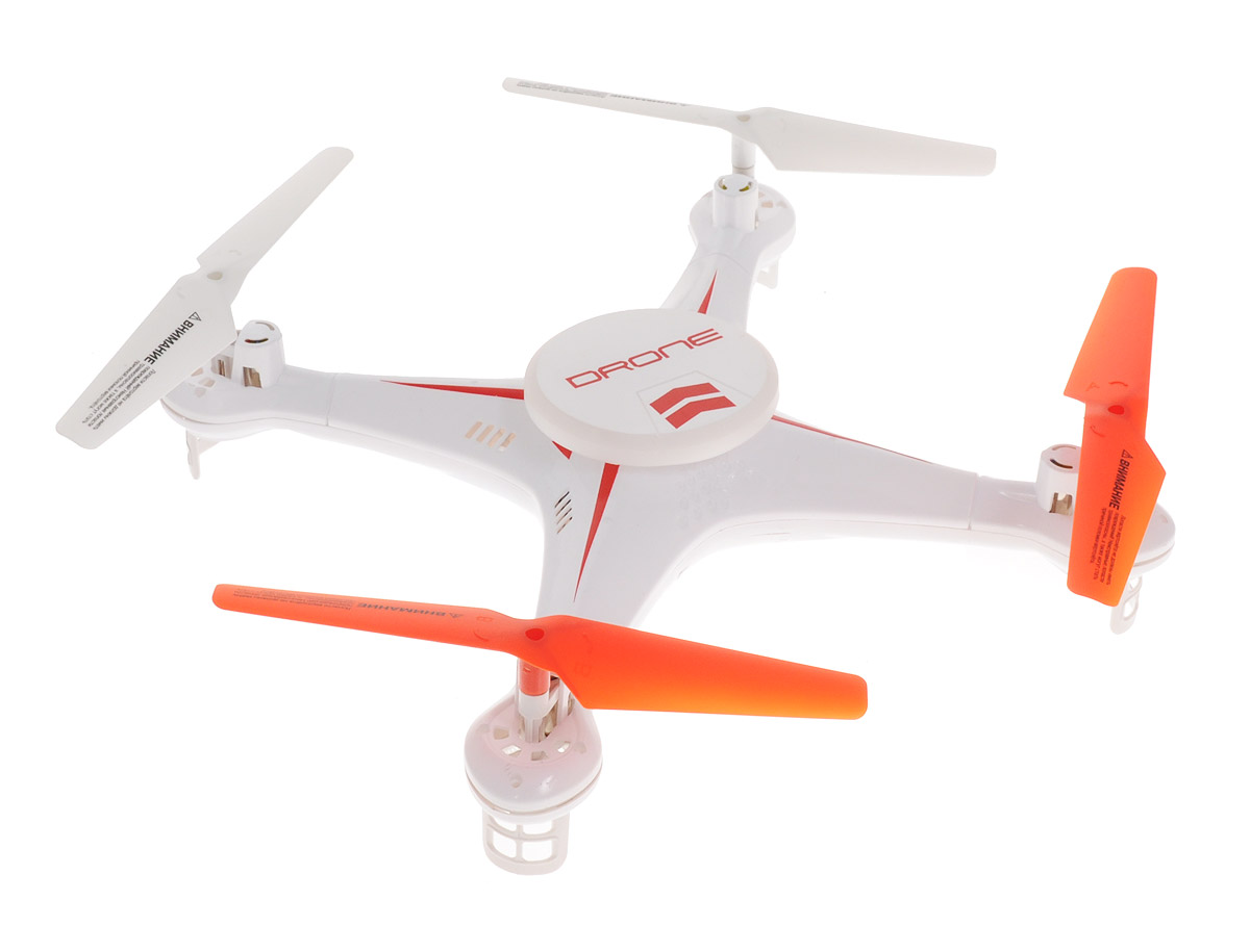 1TOY Квадрокоптер на радиоуправлении Gyro-Drone квадрокоптер 1toy gyro drone т58984