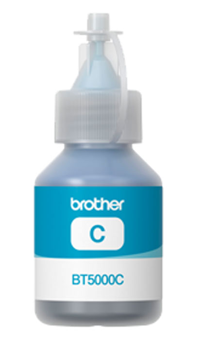 Brother BT-5000C, Cyan чернила для DCP-T300/DCP-T500W/DCP-T700W цена