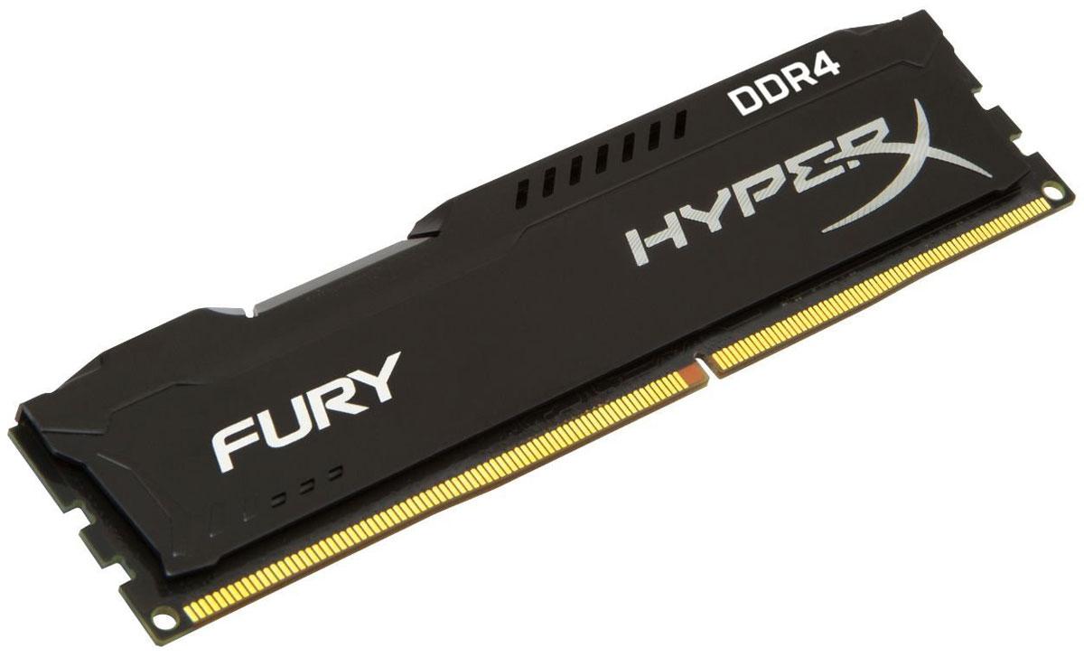 Модуль оперативной памяти Kingston HyperX Fury DDR4 DIMM 4GB 2400МГц (HX424C15FB/4)