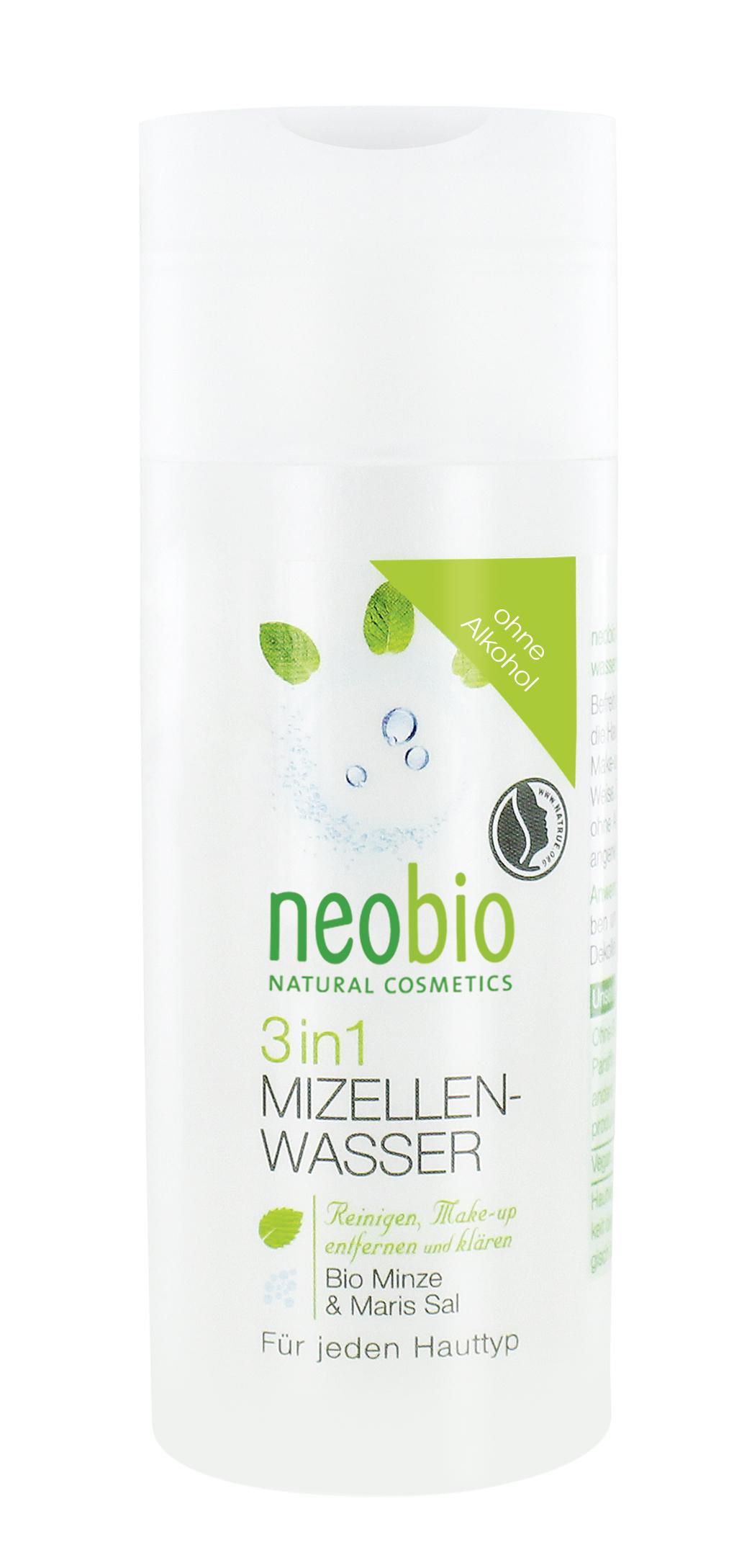 Neobio Мицеллярная вода 3 в 1 150 мл