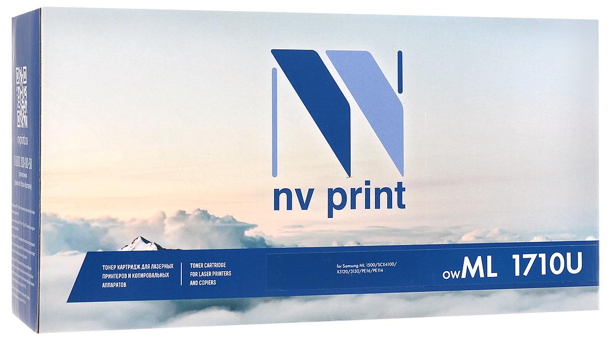NV Print ML-1710UNIV, Black тонер-картридж для Samsung ML-1500/1710/SCX-4016/4100/SF-560/750/Xerox Phaser 3115/3116/3120/3121/3130/PE16/PE114/PE115/Ricoh AC104/H293/Lexmark X21