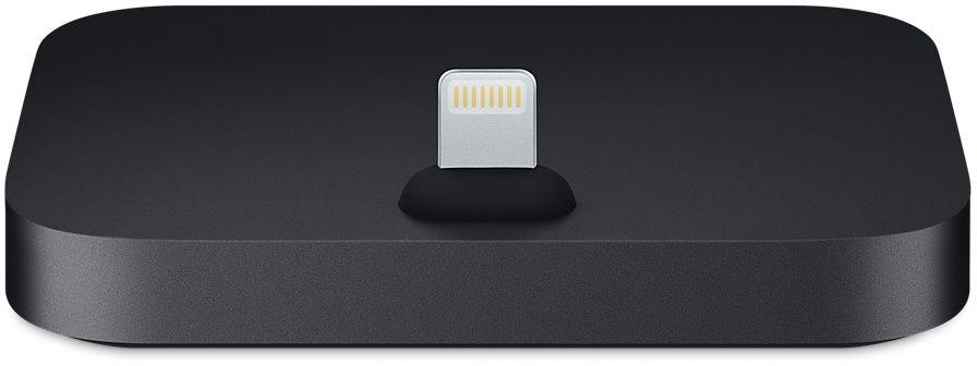 Apple iPhone Lightning Dock, Black док-станция док станция belkin valet charge dock для apple iphone и apple watch черный