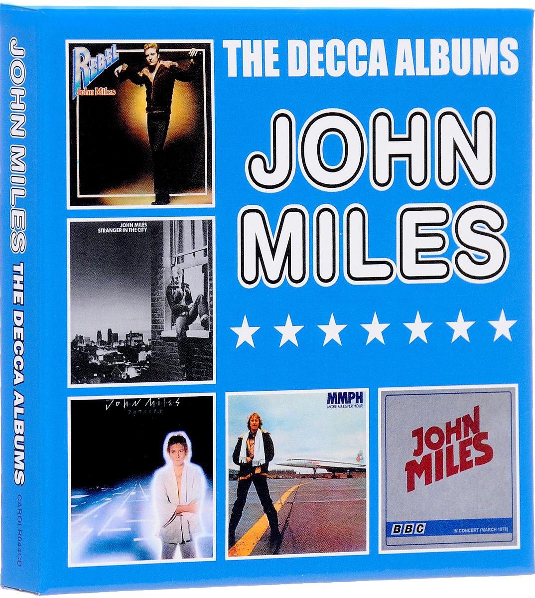 цена на Джон Майлз John Miles. The Decca Albums (5 CD)