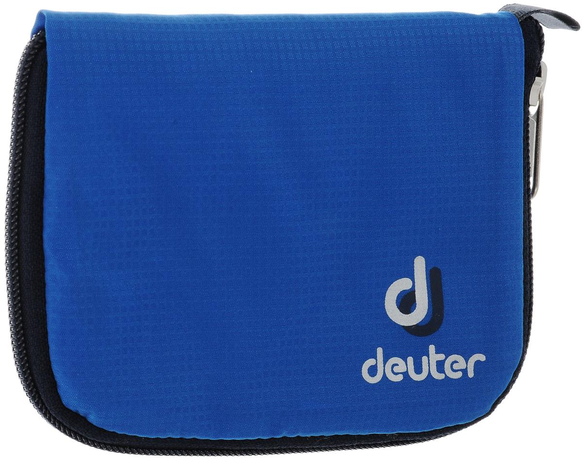Кошелек спортивный Deuter Zip Wallet Bay, цвет: голубой кошелек deuter security wallet ii цвет бежевый