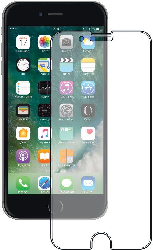 Deppa защитное стекло для Apple iPhone 7 Plus / 8 Plus, Clear стоимость