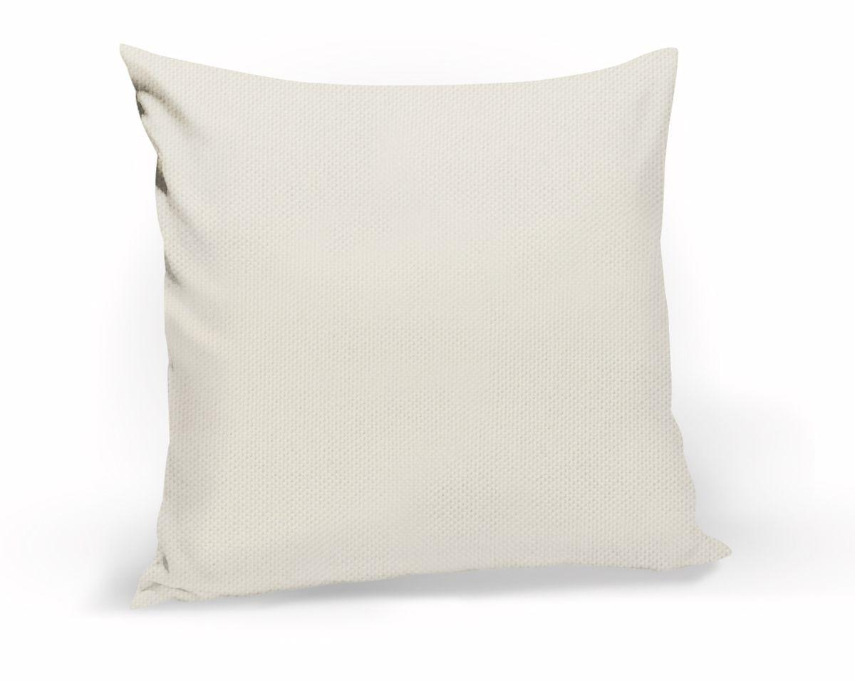 Подушка декоративная KauffOrt Комо, цвет: бежевый крем, 40 x 40 см подушка декоративная kauffort мауритани цвет бежевый 40 x 40 см