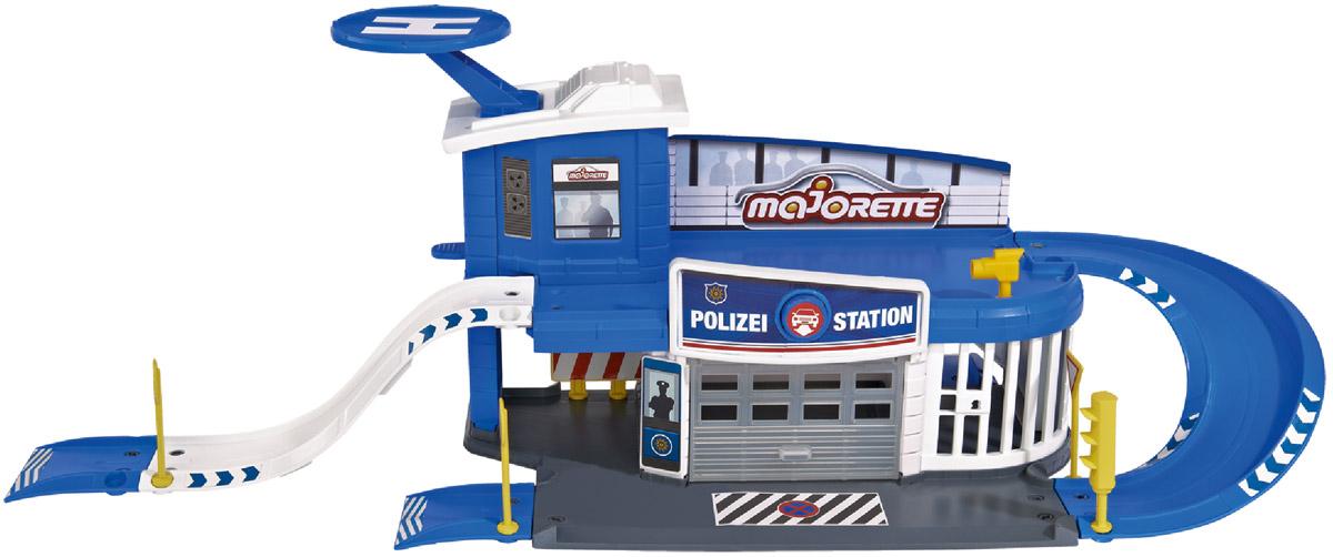 Majorette Игровой набор Полицейская станция Creatix majorette игровой набор парковка полицейская станция