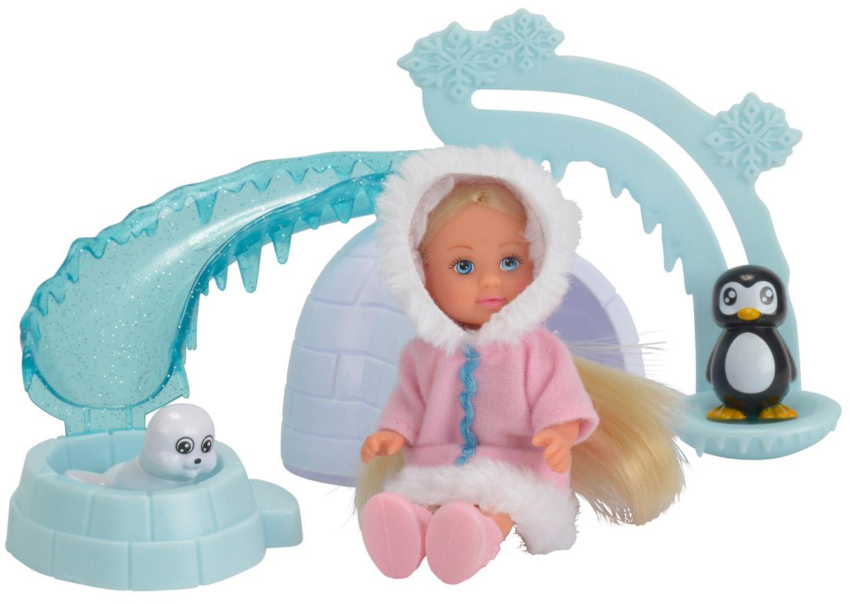 Simba Игровой набор Еви на северном полюсе simba игровой набор с куклой еви 9 предметов