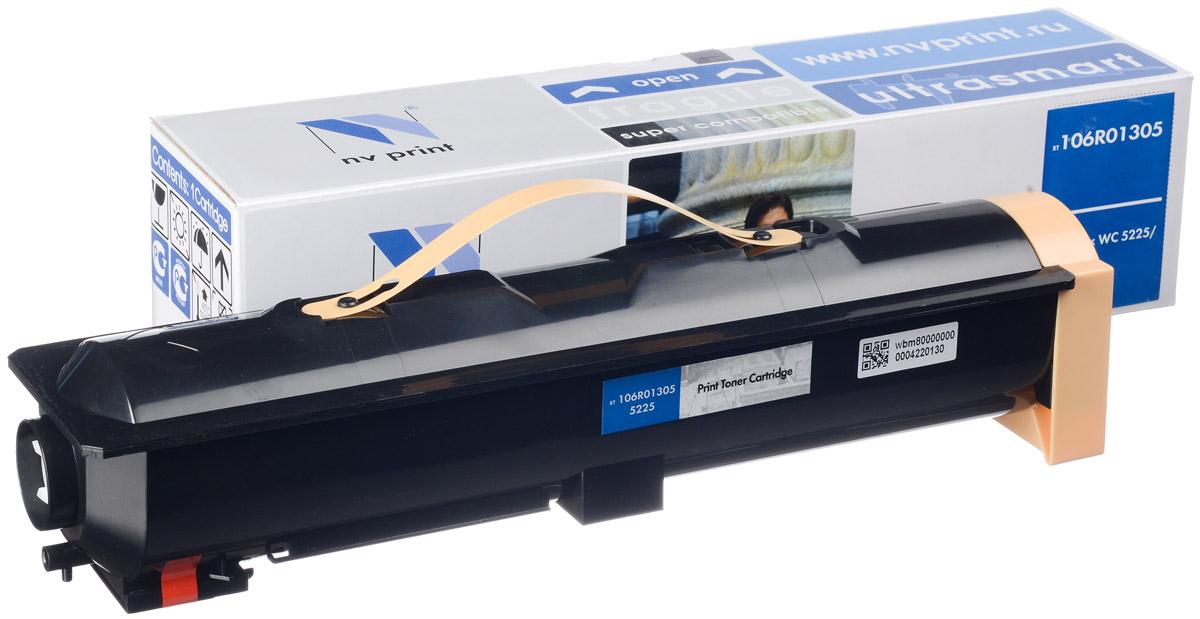 NV Print 106R01305, Black тонер-картридж для Xerox WCP 5225/5230