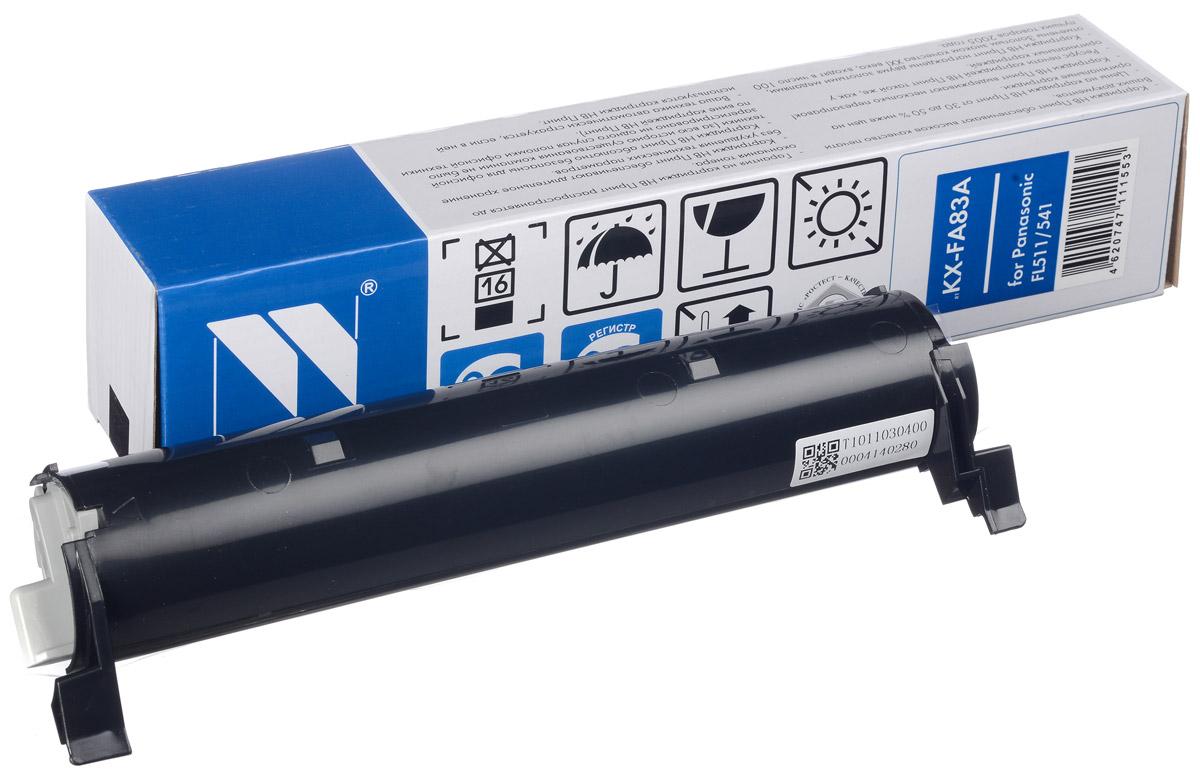 Картридж NV Print KX-FA83A/E, черный, для лазерного принтера