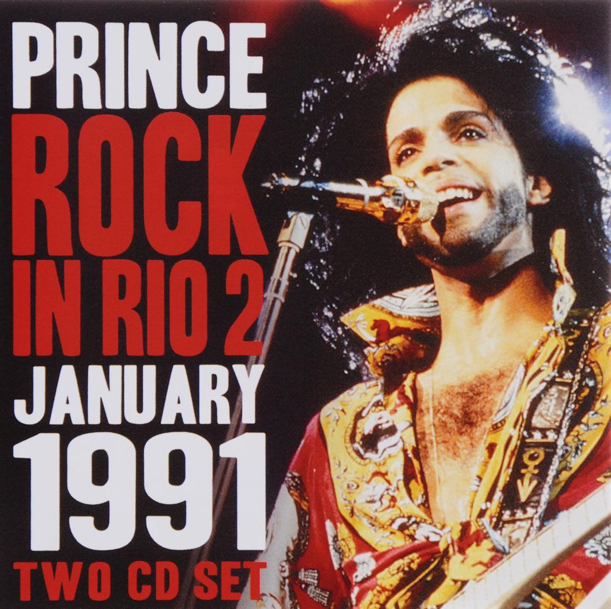 Prince. Rock In Rio 2 (2 CD). Принц