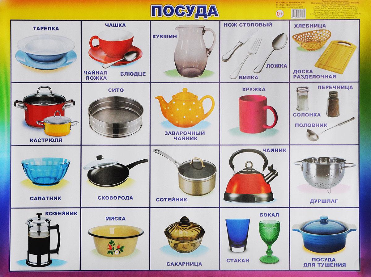 предметы посуды фото с названием оправдал