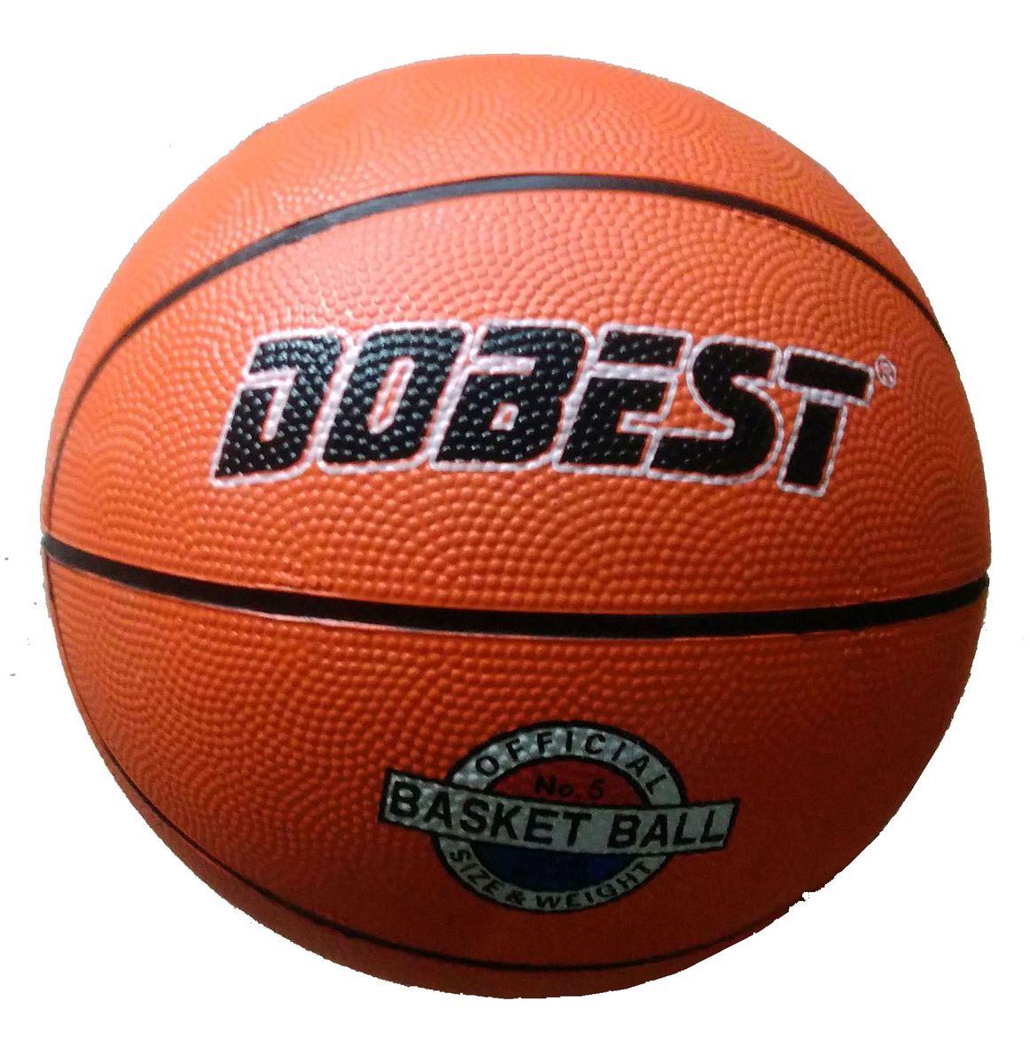 Мяч баскетбольный Dobest RB5, цвет: оранжевый. Размер 5 мяч для н т dobest ba 01 3шт уп