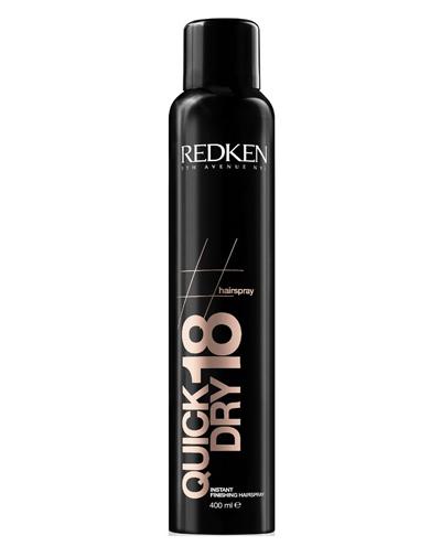 Redken Hairsprays Quick Dry18 Сухой спрей мгновенной фиксации для завершения укладки, 400 мл redken спрей сильной фиксации для завершения укладки forceful 23 400 мл