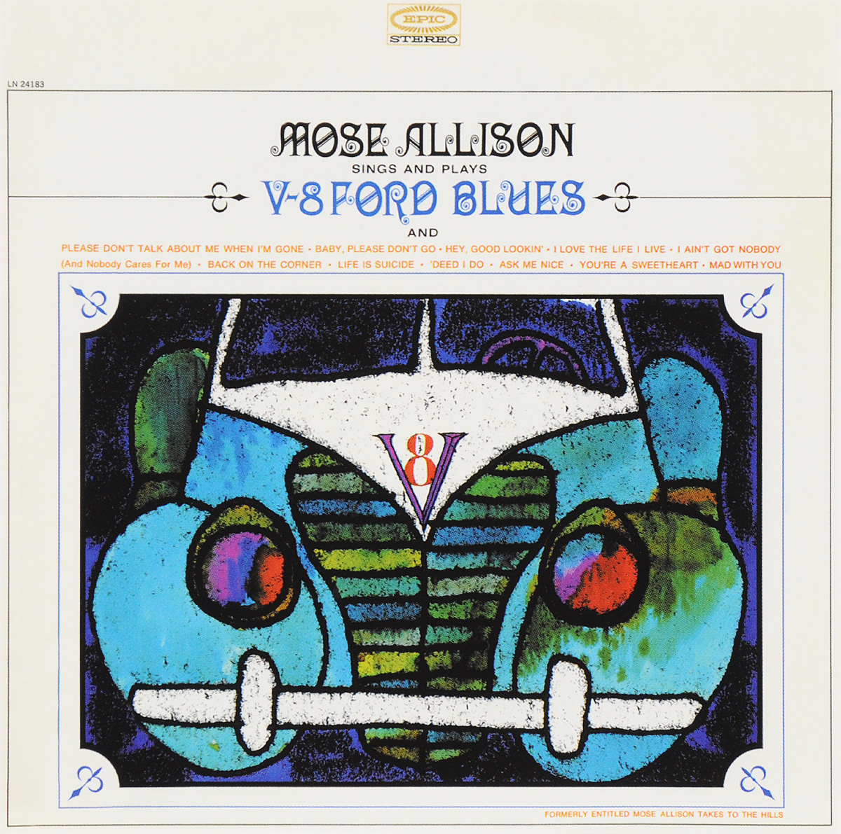 Моуз Эллисон Mose Allison. V-8 Ford Blues моуз эллисон mose allison transfiguration of hiram brown creek bank i love the life i live v 8 ford blues young man mose 2 cd