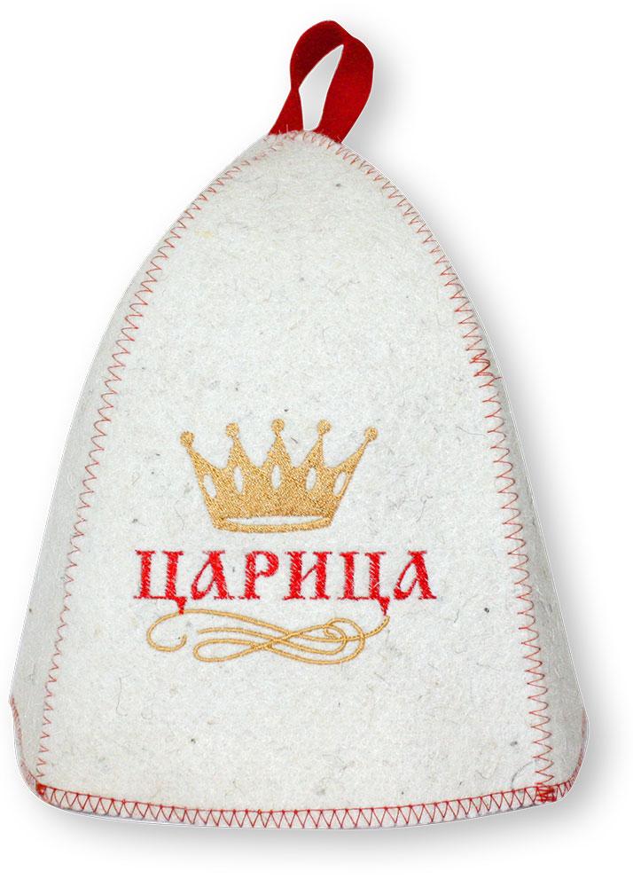 Шапка для бани и сауны Царица(с вышивкой) печь для русской бани видео