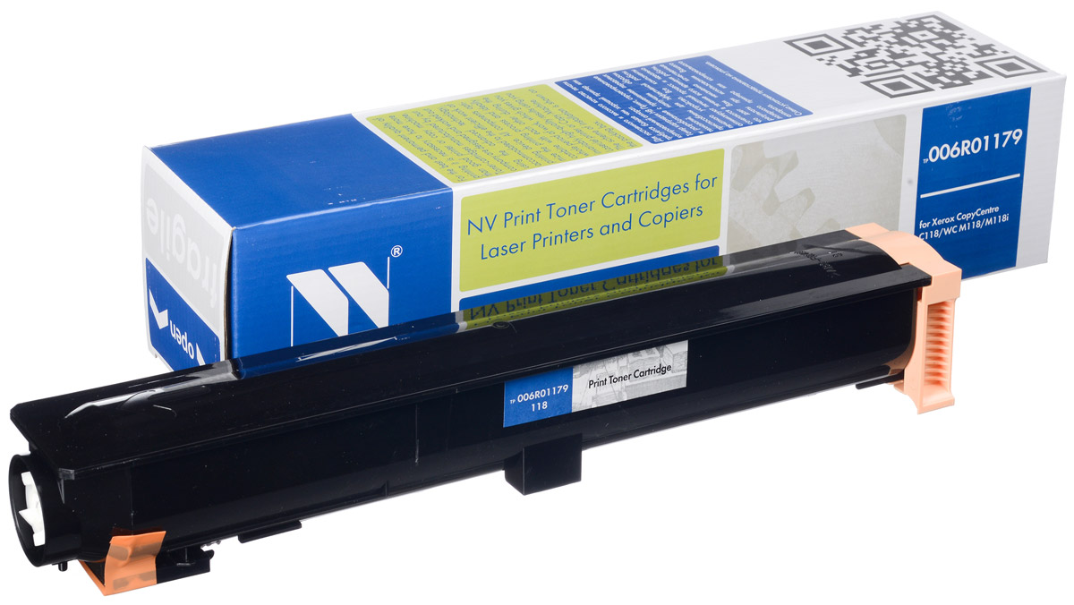 NV Print 006R01179, Black тонер-картридж для Xerox WC C118/M118/M118i картридж sakura 006r01179
