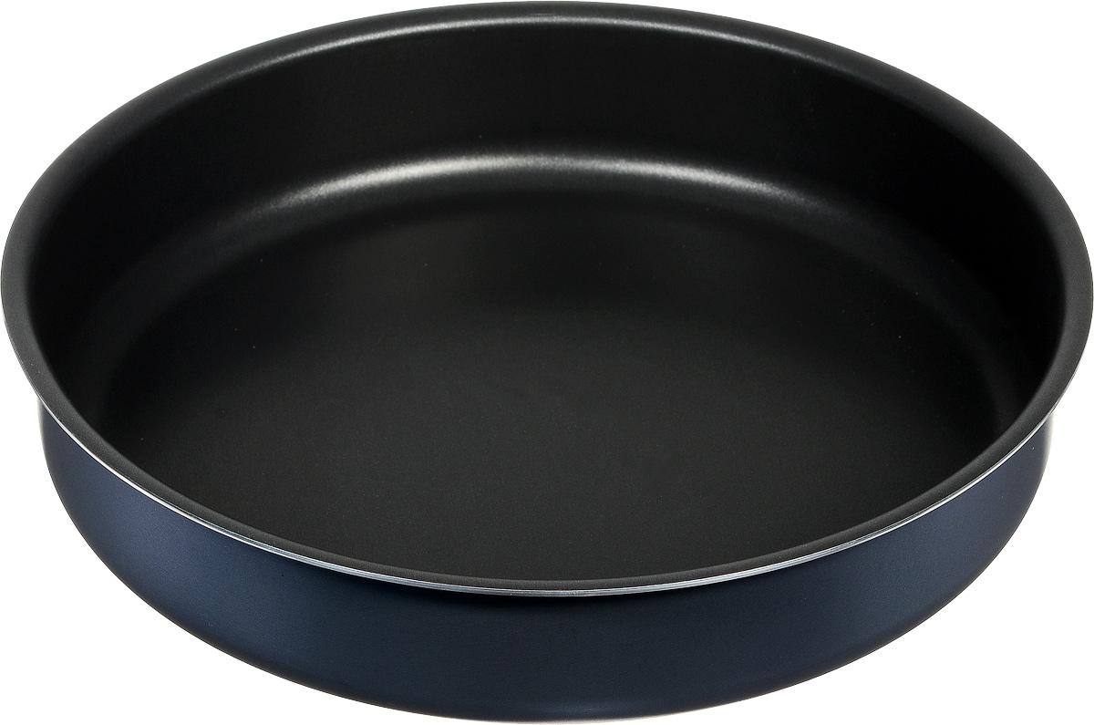 Форма для выпечки Калитва, круглая, с антипригарным покрытием, диаметр 26 см форма для пиццы dr oetker comfort круглая с антипригарным покрытием цвет серый диаметр 30 см