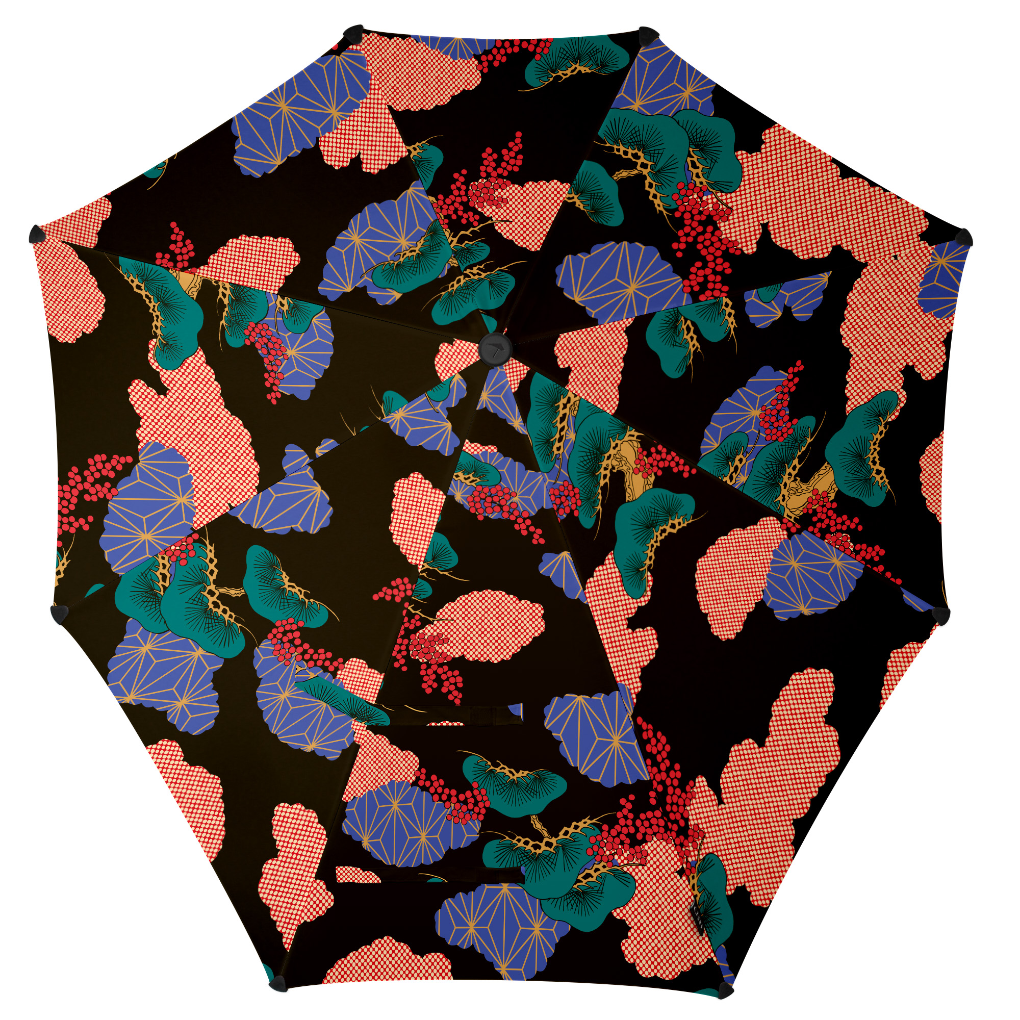 Зонт-трость Senz, цвет: мультиколор. 2011068 senz зонт трость senz° original flying high