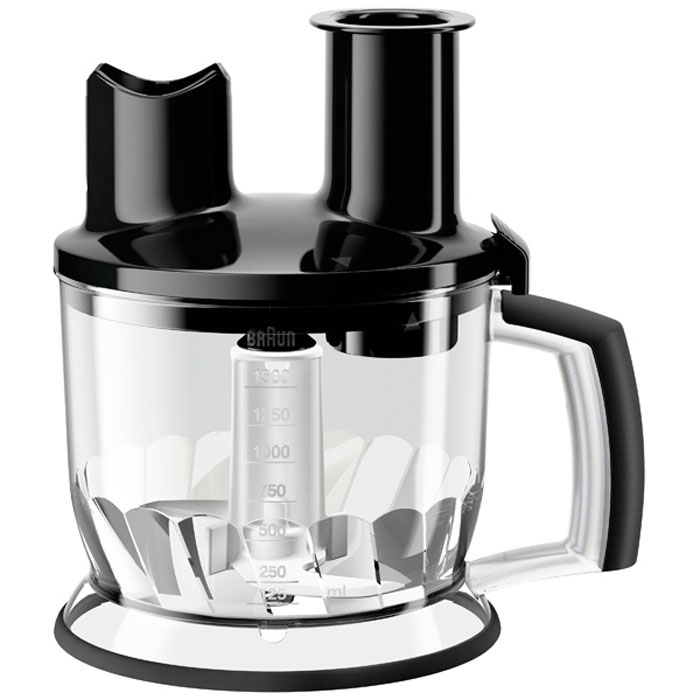 Braun MQ70 Food Processor Att MQ7 Series, Black емкость для блендера braun mq40 big chopper mq7 series black емкость для блендера