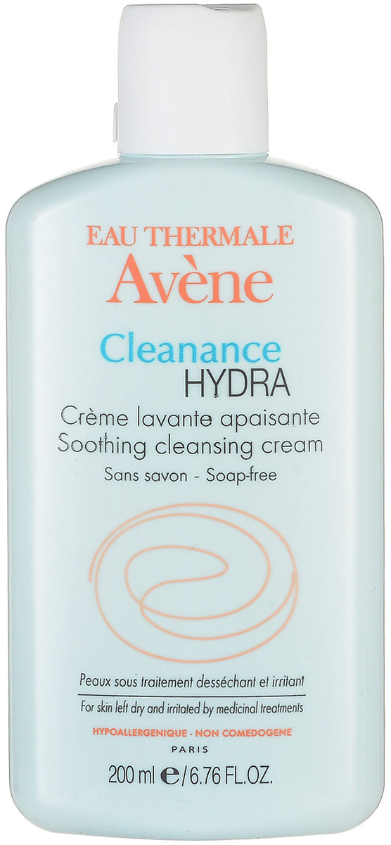 Avene Очищающий смягчающий крем Cleanance Hydra, 200 мл крем для лица avene cleanance expert soin