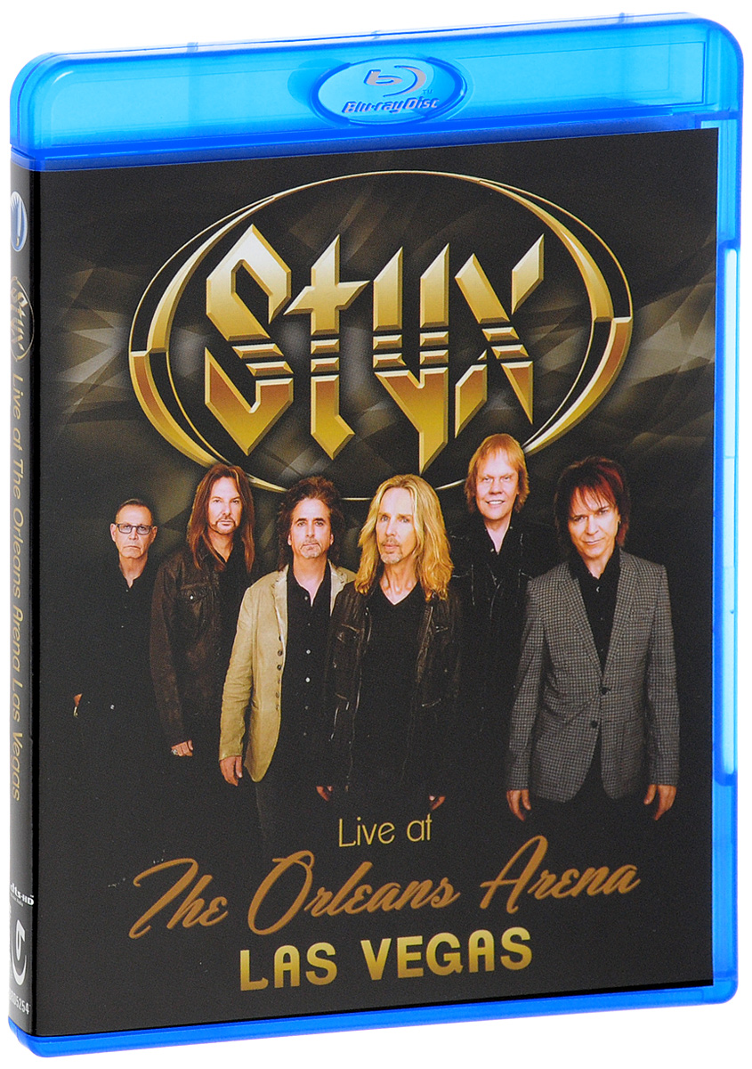 Styx: Live At The Orleans Arena Las Vegas (Blu-ray) styx styx the best of times the best of styx