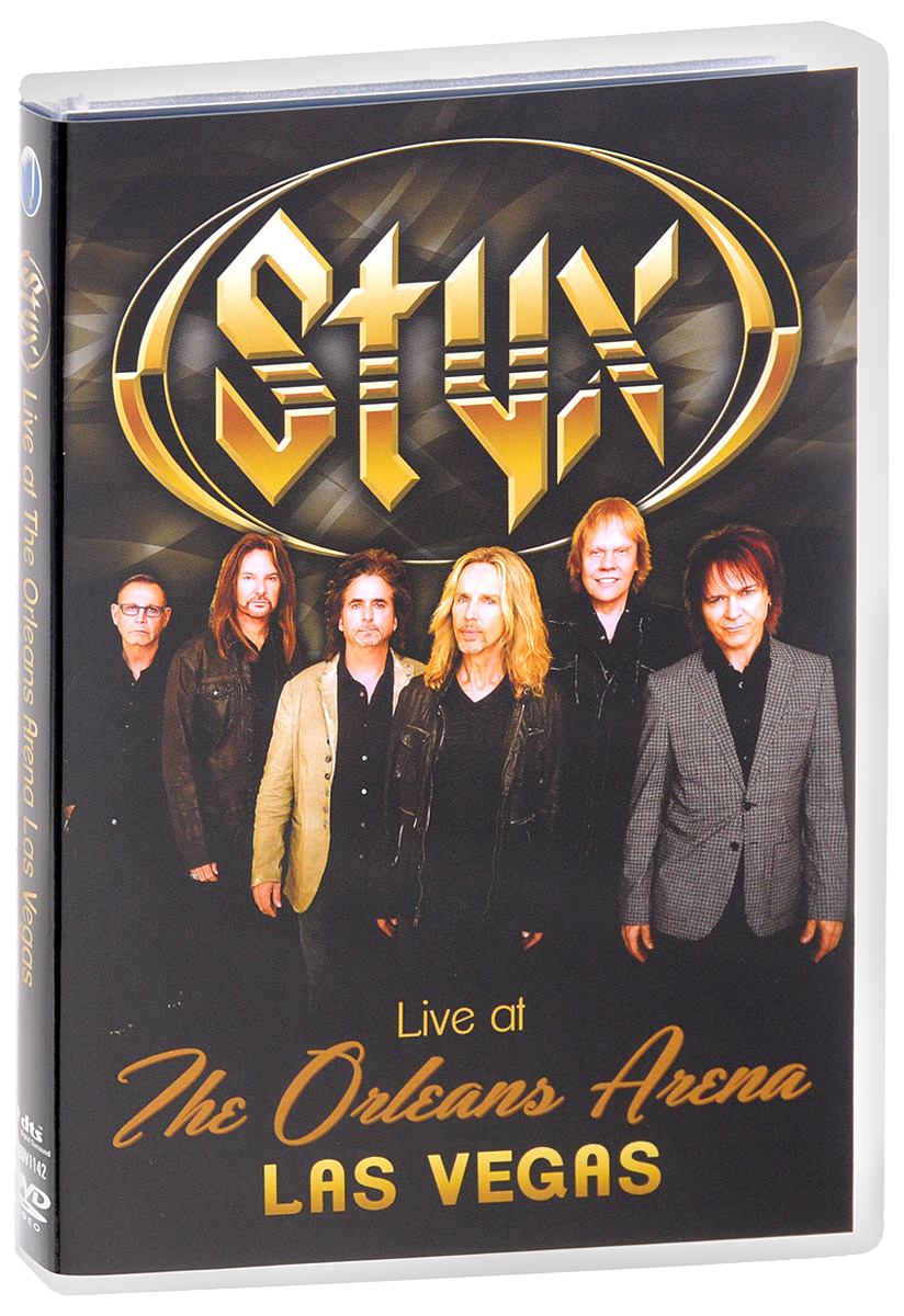 Styx: Live At The Orleans Arena Las Vegas styx styx the best of times the best of styx