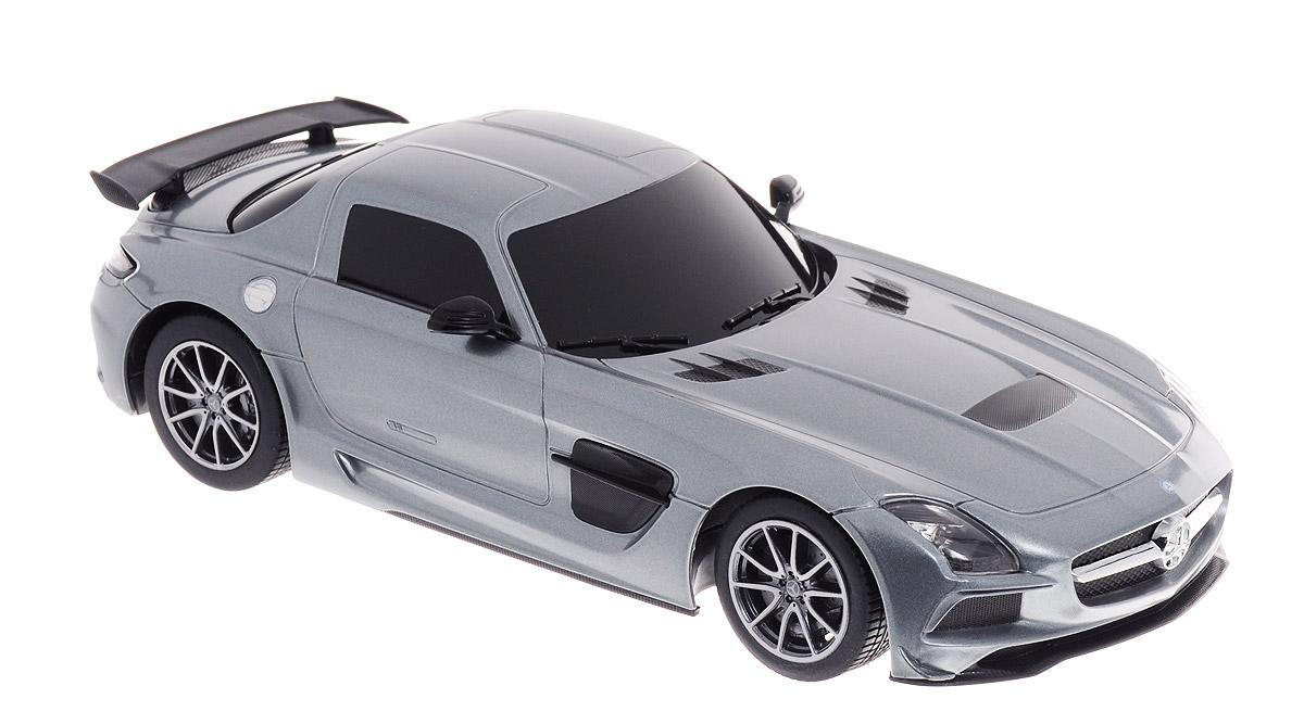 Rastar Радиоуправляемая модель Mercedes-Benz SLS AMG цвет серебристый масштаб 1:18 радиоуправляемая модель rastar mercedes g55 amg масштаб 1 24