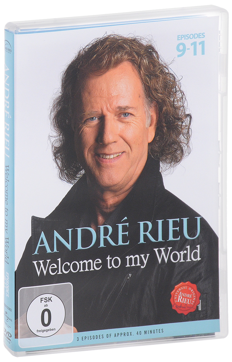 Andre Rieu: Welcome To My Word. Episodes 9-11 andre rieu the best of live