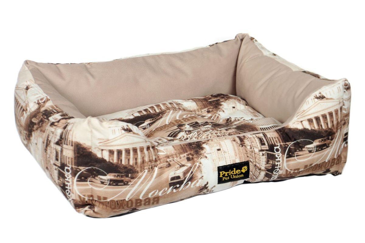 Лежак для животных Pride Москва, 70 х 60 х 23 см лежак для животных pride мадагаскар 10012802 бирюзовый 70 х 60 х 23 см