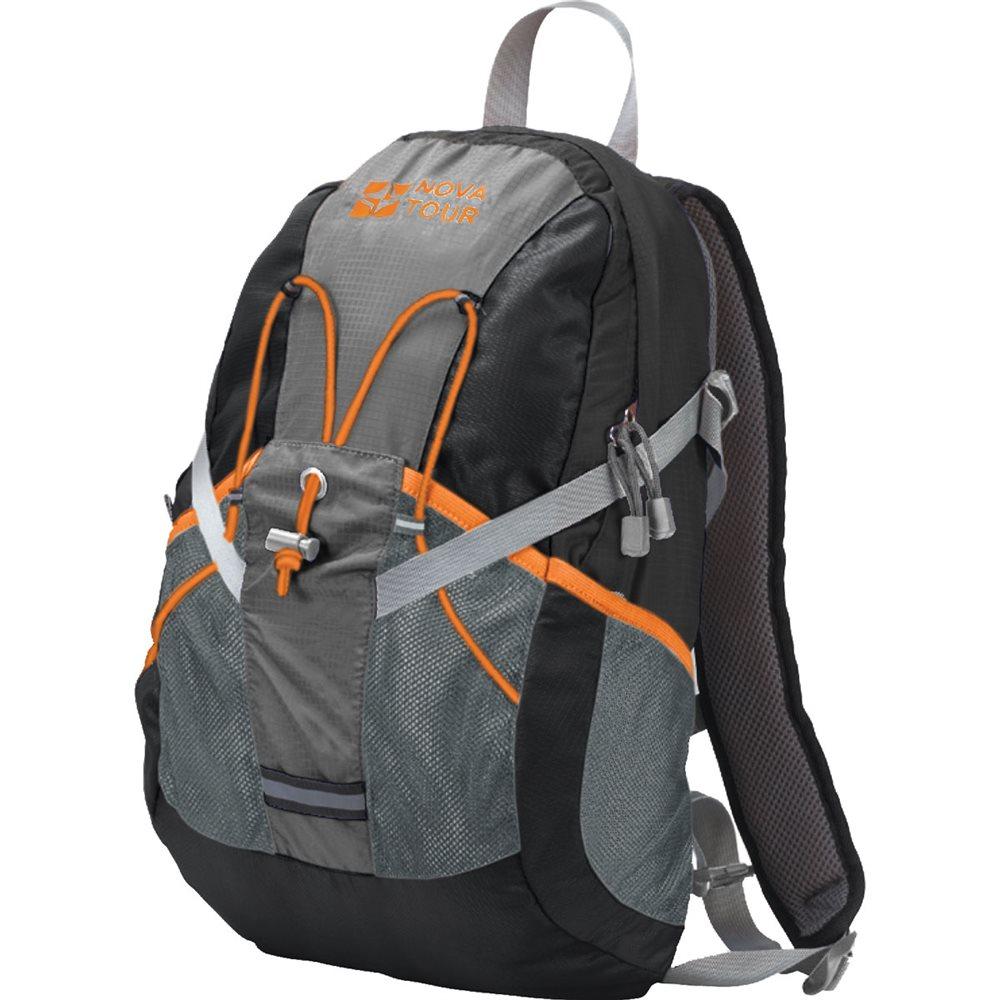Рюкзак городской Nova Tour Вижн, цвет: черный, серый, 20 л рюкзак городской thule lithos backpack 3203632 черный 20 л