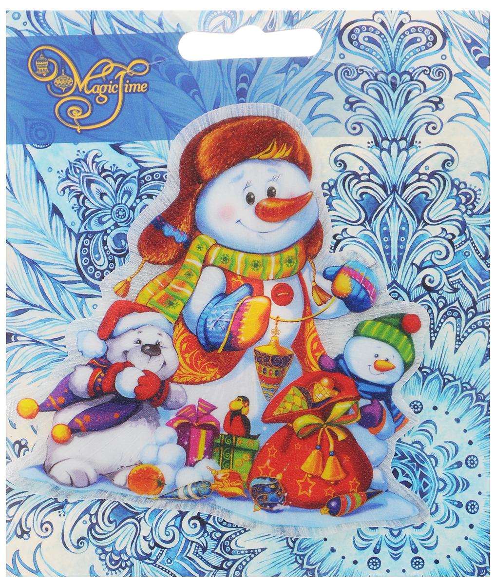 Открытки своими, новогодние открытки со снеговиками