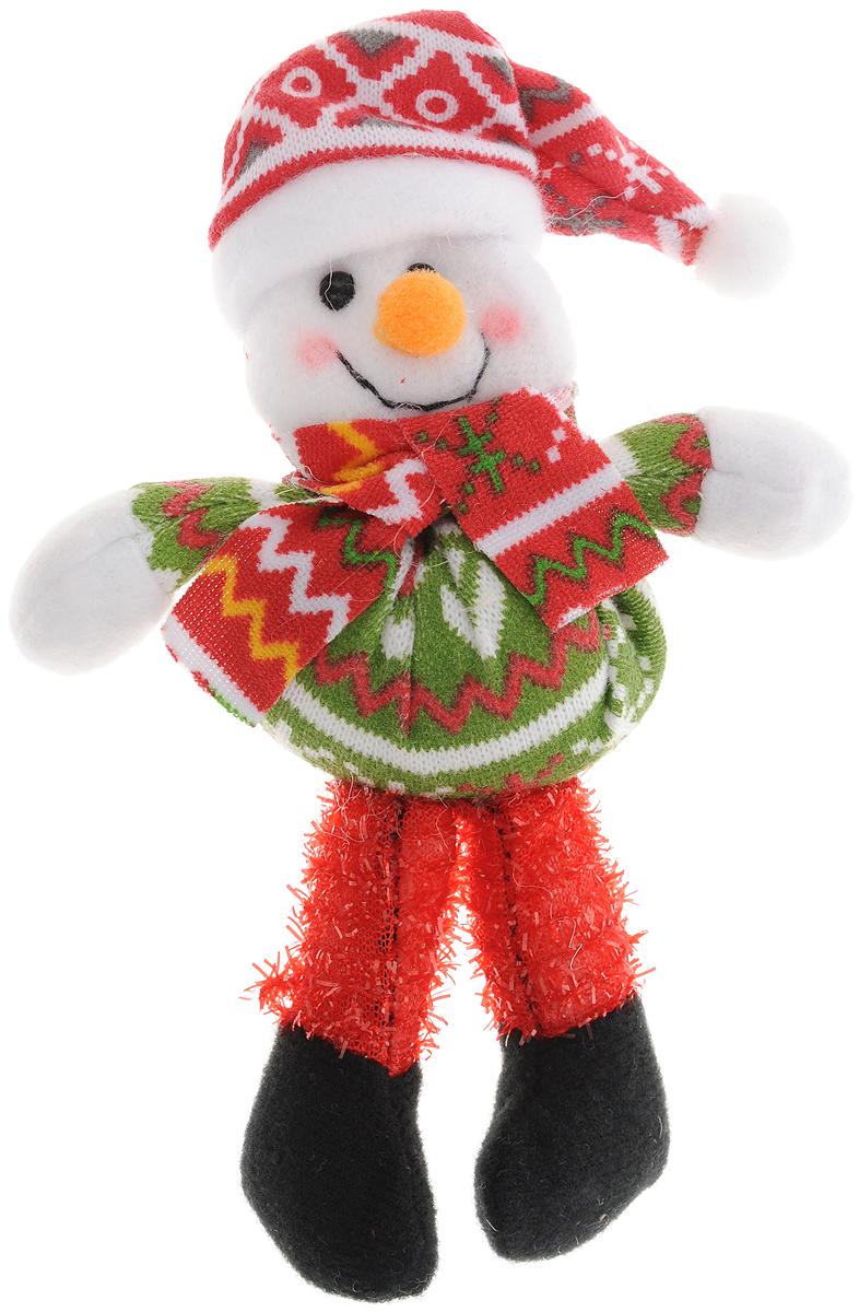 Украшение новогоднее Феникс-Презент Снеговик, высота 17 см феникс презент новогоднее украшение с новым годом