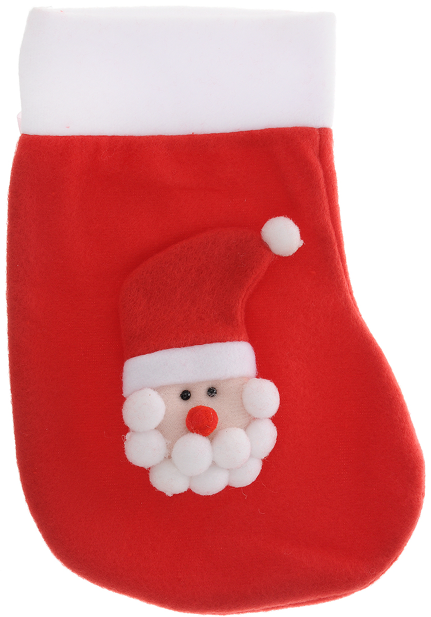 Фото - Украшение новогоднее подвесное Magic Time Дед Мороз в красном колпаке, 24,5 x 16,5 см новогоднее украшение на голову magic time дед мороз в полосатом колпаке 78606