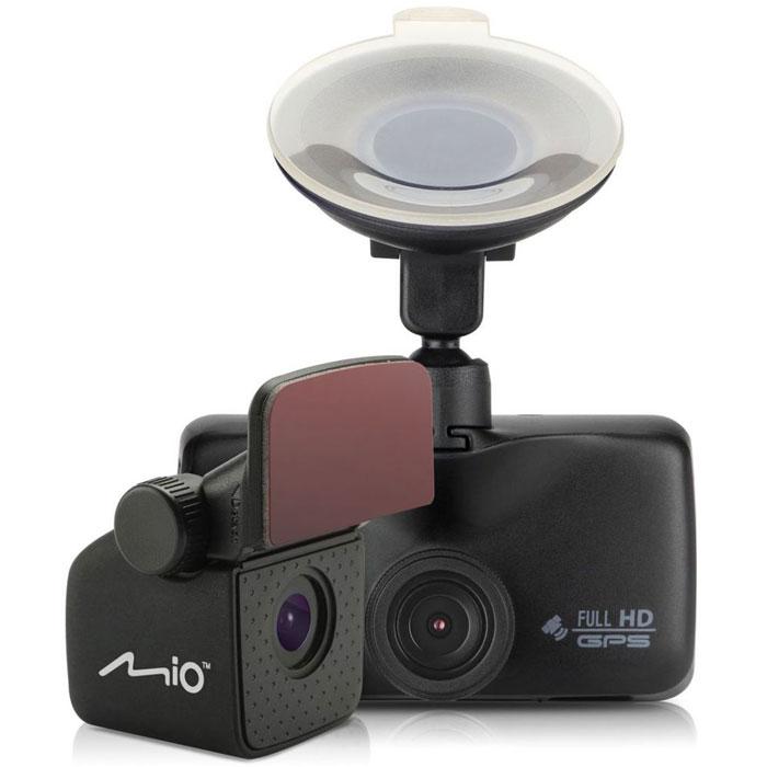 Mio MiVue 698, Black видеорегистратор