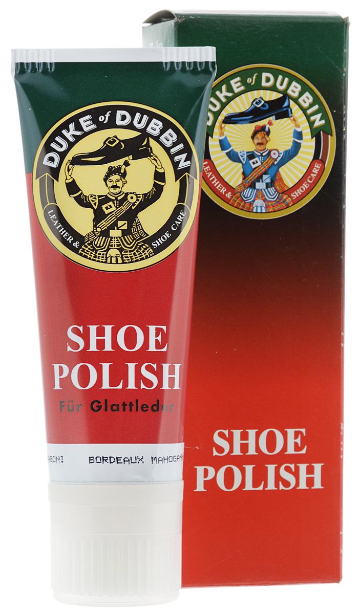 Крем для гладкой кожи Duke of Dubbin Duke Shoe Polish, цвет: бордо, 75 мл duke