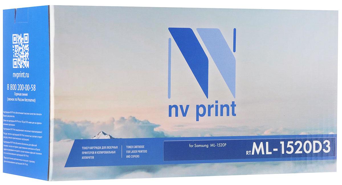 Тонер-картридж NV Print ML-1520D3, черный, для лазерного принтера, совместимый