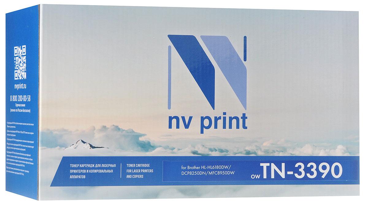 лучшая цена Картридж NV Print TN3390T, черный, для лазерного принтера